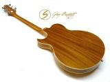Halbresonanz-Gitarre Samick Greg Bennett Royale III transp. amber