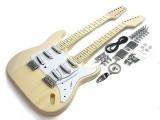 E-Gitarren-Bausatz Style I Doppelhals 12 u. 6 saitig